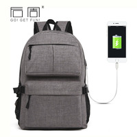 Men S Backpack Women Casual Laptop Backpacks With USB Charger Fashion Large Capacity Women Backpack School