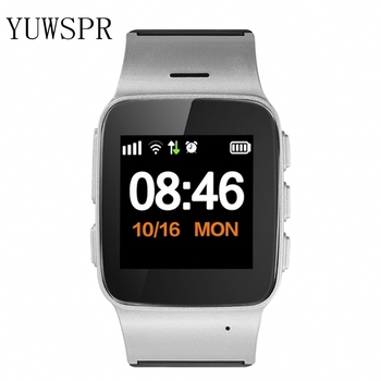 Smart Watch Elderly GPS tracker Heart rate monitor safety SOS fall-down alarm GPS LBS WIFI Tracker for Apple Android phone D99