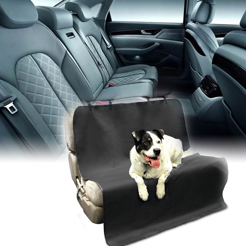1.3cmX1.05m Waterproof Car Pet Seat Covers 600D Oxford fabric Back Bench Seat Covers Mat Blanket For Pet Dog Cat Car Styling