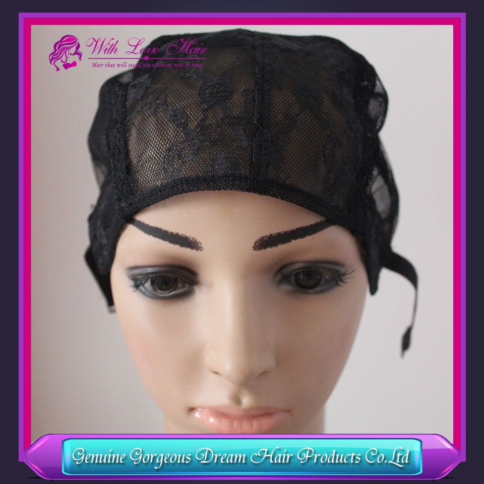 black full lace wig cap