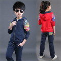children 2017 male and female children sweater spring movement in the spring and autumn big boy two suit baby clothes.