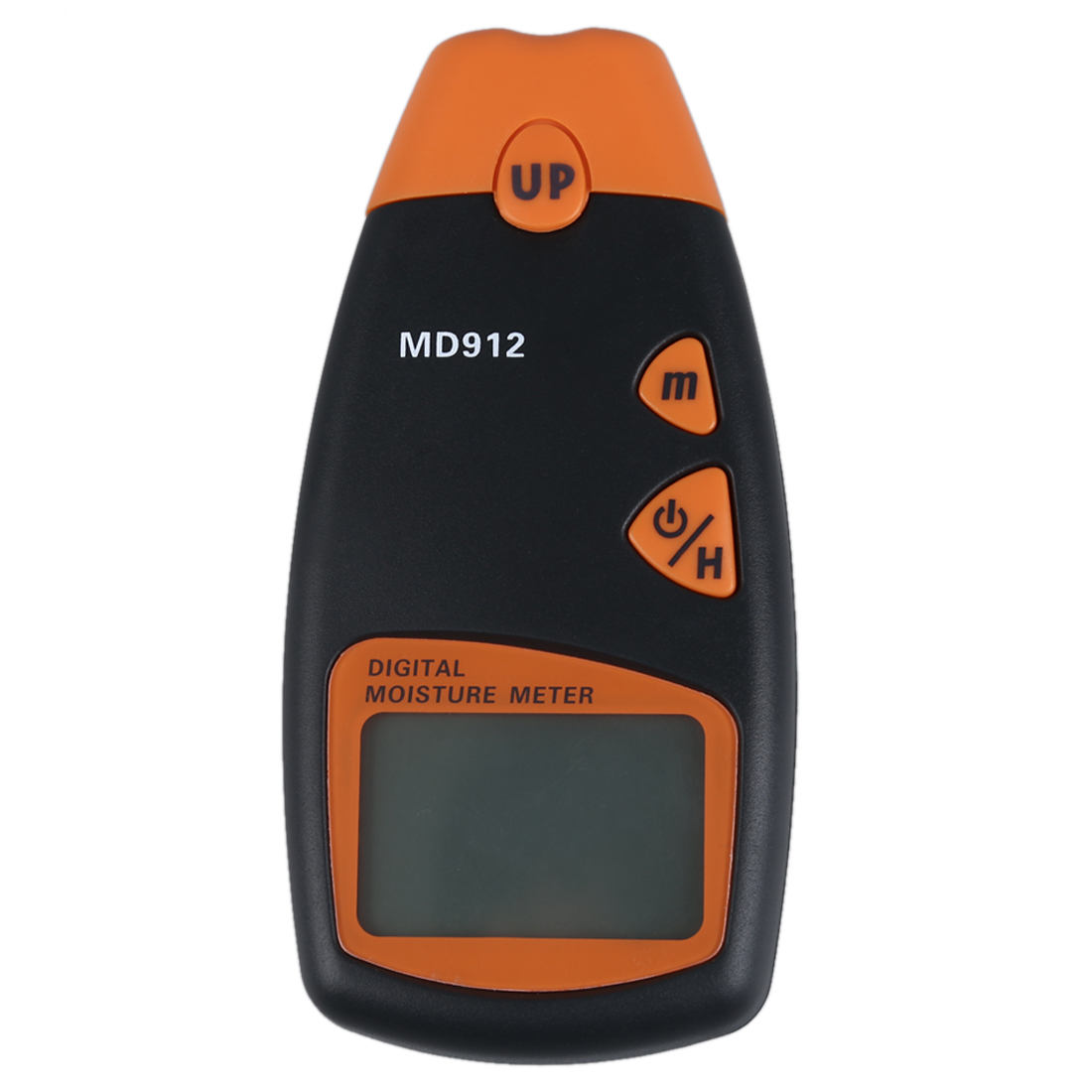 MD912 Tools Digital Moisture Meter For Wood Sheetrock Carpets 2-Pin Sensor (Range 2% - 70% RH; Accuracy 0.5%) [randomtext category=