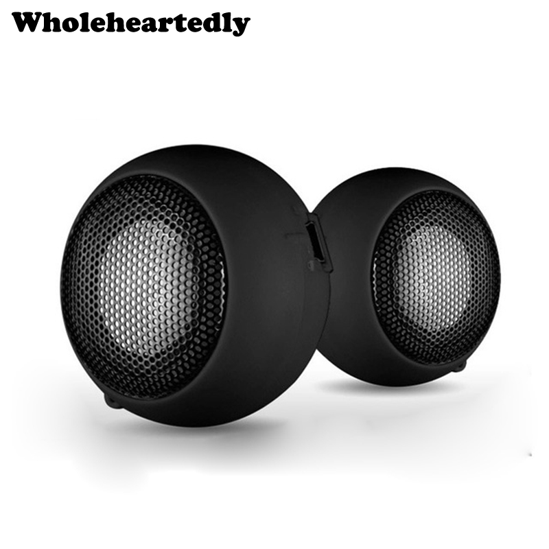 Portable Mini 3.5mm Jack Hamburger Sound Loud Speaker For Phones Tablet PC BT