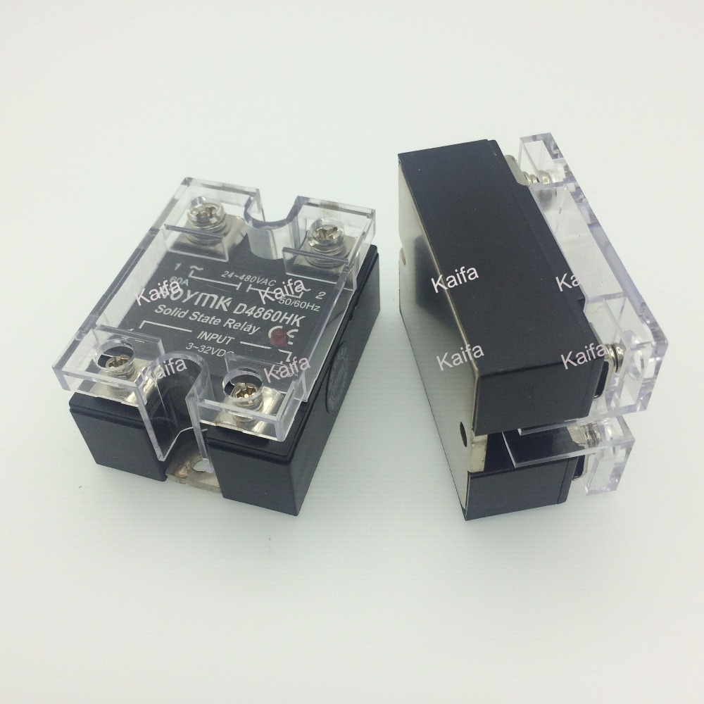 цена на wholesale genuine Solid State Relay SSR-D4860HK 60A 24-480VAC