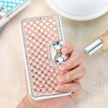 Kisscase Роскошные Алмазный Бумажник Стенд чехол для iPhone 6 S 7 7 Plus с сияющими блестками горный хрусталь крышка для Iphone 6 6 S плюс 5S SE 5