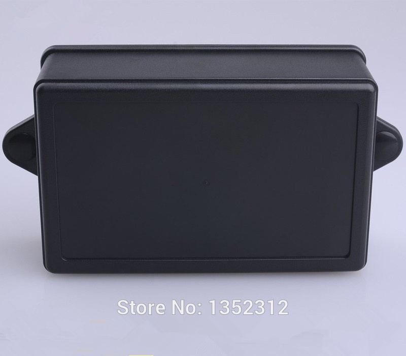 12 pcs/lot 85*55*35mm wall mount enclosure plastic box for electronic abs DIY project box waterproof PLC control junction box