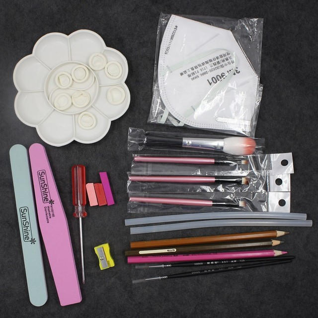 Neo Blythe Doll Makeup Customization Toolkit
