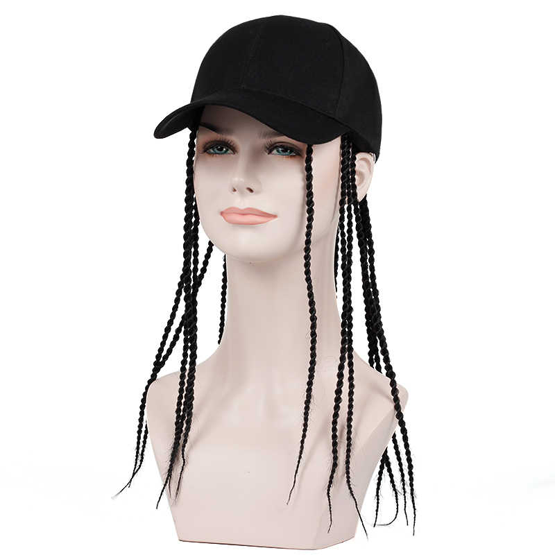 2019 new Wig long hair scorpion baseball cap scorpion visor novelty party hat hippie style funny Halloween costume hip hop caps