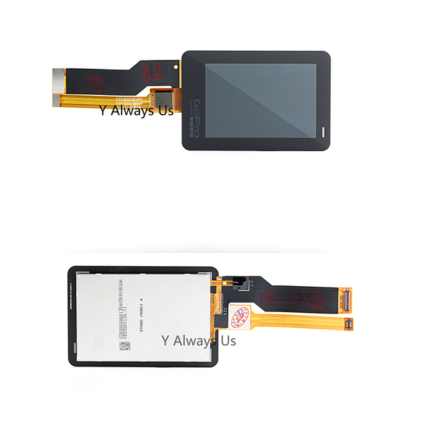 100% Brand New Original for Gopro hero 5 Touch Screen Rear LCD for Gopro 5 Repair LCD Display Screen Touchscreen