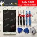 Пусть v X800 ЖК-Дисплей С Сенсорным Экраном 2560X1440 5.5 дюйма 2 К Испытанное Хорошее Замена Digitizer Ассамблеи Для Пусть V Le one Pro Телефон