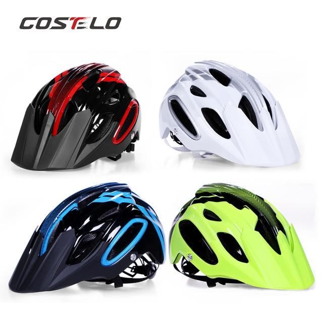 Cycling Costelo Am/xc Track Bicycle Helmet Mtb Cycling Bike Sports Safety Helmet Off-road Super Mountain Bike Cycling Helmet Bmx