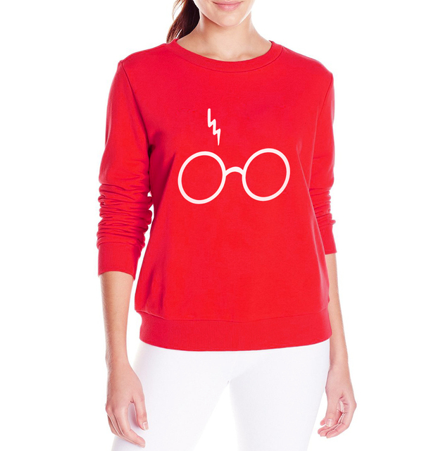 "Harry Potter – "" Lightning Glasses"" Women Sweatshirt"