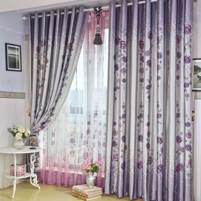 Popular Double Window Curtains-Buy Cheap Double Window Curtains ...