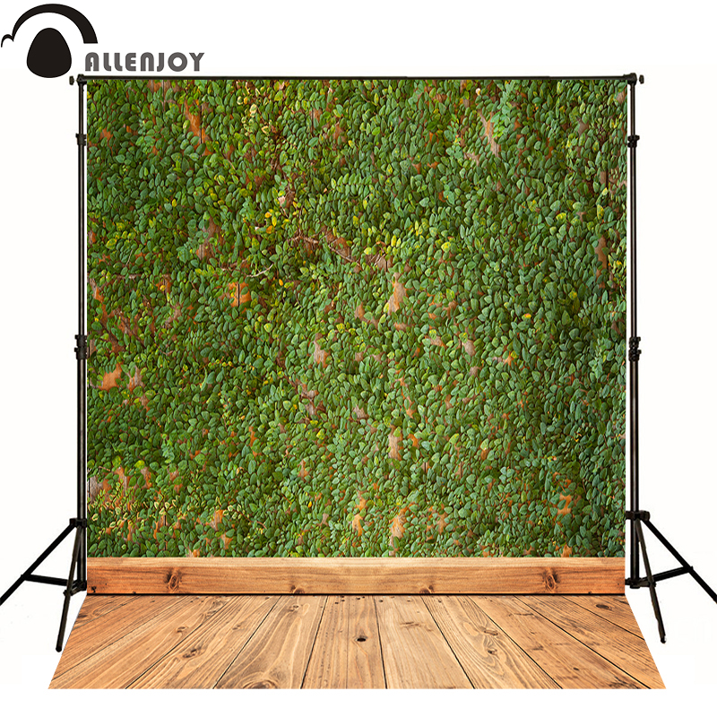 Allenjoy photography backdrops for sale Natural dark wood green vine kids photocall Professional photographic background studio allenjoy photography backdrops for sale natural dark wood green vine kids photocall professional photographic background studio
