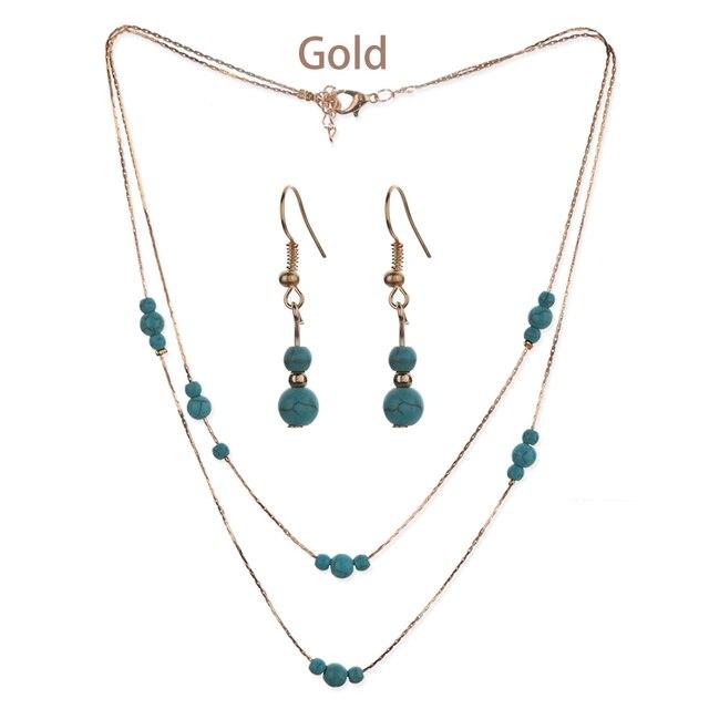 Stone Beads Bridal Jewelry...