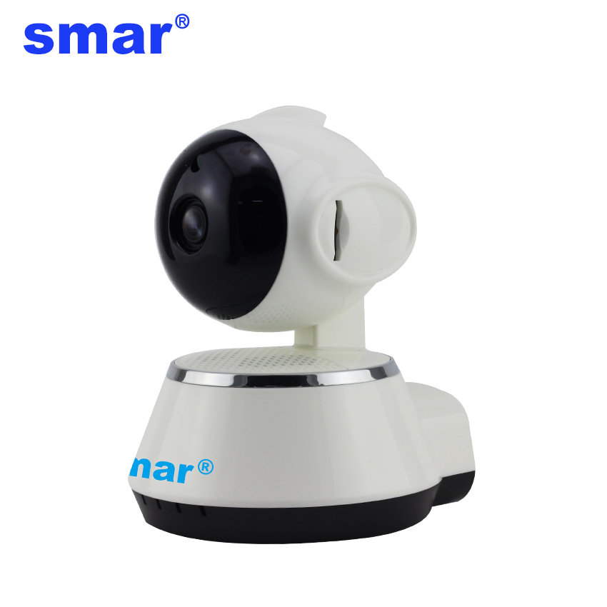 Smar Dome Camera 720P Wireless IP Camera CCTV P2P Home Security Video Surveillance System Network Camera Support SD Card hd 720p owlcat onvif wifi dome ip camera home video surveillance smart dome ir cctv network security camera support 128g sd card