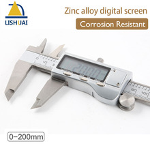 Buy online 0-200mm Hardened Electronic Stainless Steel Digital Caliper Zinc alloy Vernier Calipers Corrosion Resistant
