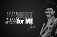 Frank Sinatra Music Poster Motivational Inspirational Poster Fabric Silk Printing Great Pictures On The Wall