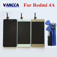 Touch Screen Glass And LCD Display Digitizer Assembly For Xiao Redimi 4A Smart Phone White Color