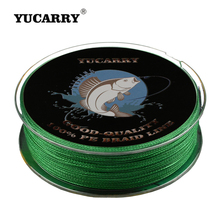 YUCARRY Brand 4 Strands PE Japan Ultra Strong Braided Fishing Line 100m Cord Accessories 14-80LB Wire Thread 7 Colors
