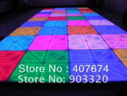 Раша Лидер продаж 1 м * 1 м DMX512 80 Вт 720 шт. 10 мм привело танцпол Для Свадебная вечеринка караоке DJ ночной клуб enertainment свет этапа