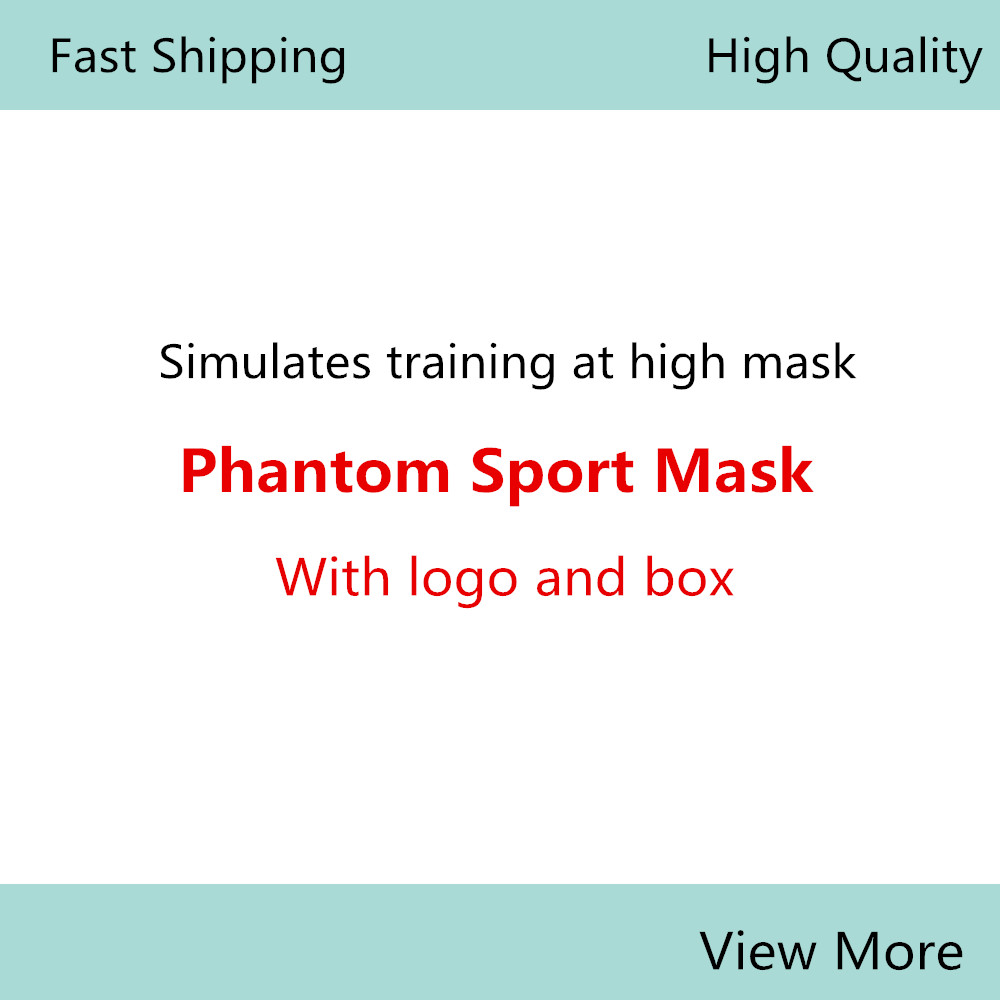 Phantom Portable Packing Style Sport Outdoor Mask With EVA Bag And Mask