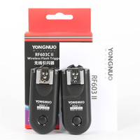 Yongnuo Wireless Remote Shutter Flash Trigger RF 603 II C1 C3 N1 C3 for Canon Nikon Pentax Fuji Samsung Kodak Camera DSLR