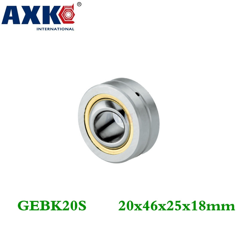 Axk Gebk20s Pb-20 Radial Shaft Spherical Plain Bearing With Self-lubrication zokol bearing ge40es radial spherical plain bearing 35 55 25 20 mm
