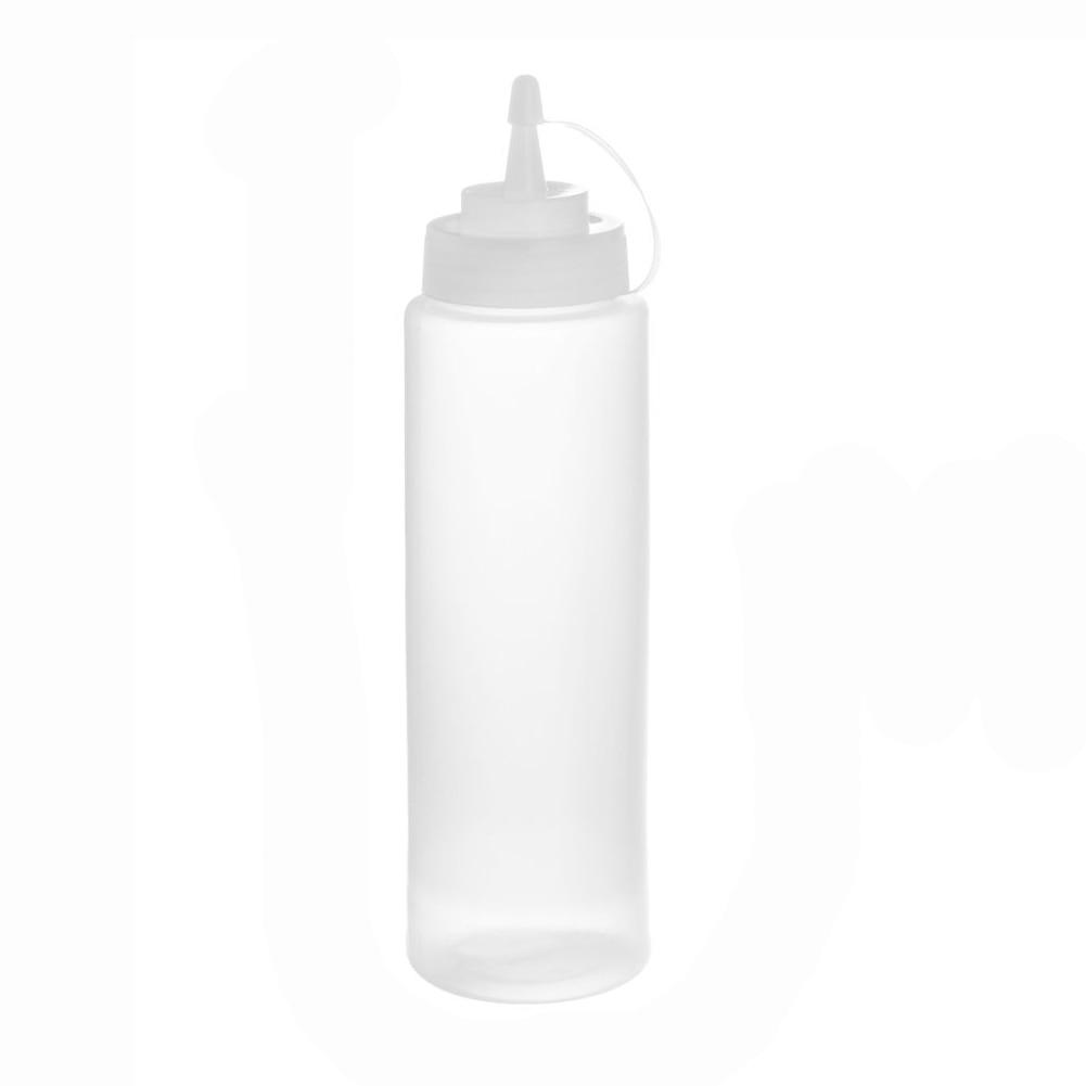 Hot Sale 24 Oz Plastic Squeeze Squirt Condiment Bottles 6