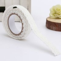FSLH Lace Ribbon cloth tape Christmas wedding's Gifts tape