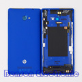 BaanSam New Battery Back Cover For HTC 8X C620E C625E Housing Door Case With Power Volume Buttons+Antenna+NFC