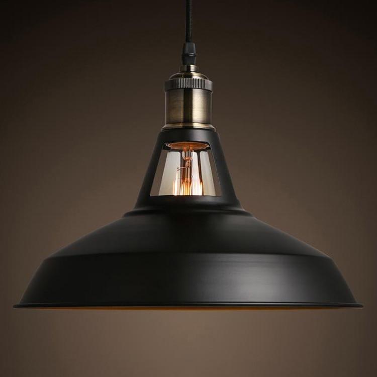 Modern Vintage Loft Pendant Light LED Edison Bulb Hanging Lamp for Home Hotel Restaurant Living and Dining Room Decoration