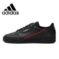 Original Authentic Adidas Continental 80 Rascal Classic Men's Skateboarding Shoes Black Lightweight Jogging Footwear B41672