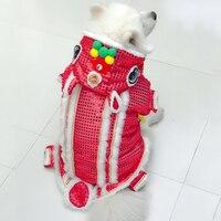 Draak Grote Hond Jasje Halloween Grappig Winter Warm Huisdier Grote Doek Puppies Kleine Kleine Dieren Kostuum Outfits Voor Labrador