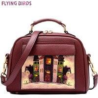 FLYING BIRDS Europe America Women Leather Handbag Messenger Bags Famous Shoulder Bag Bolsas Cross Body Bag