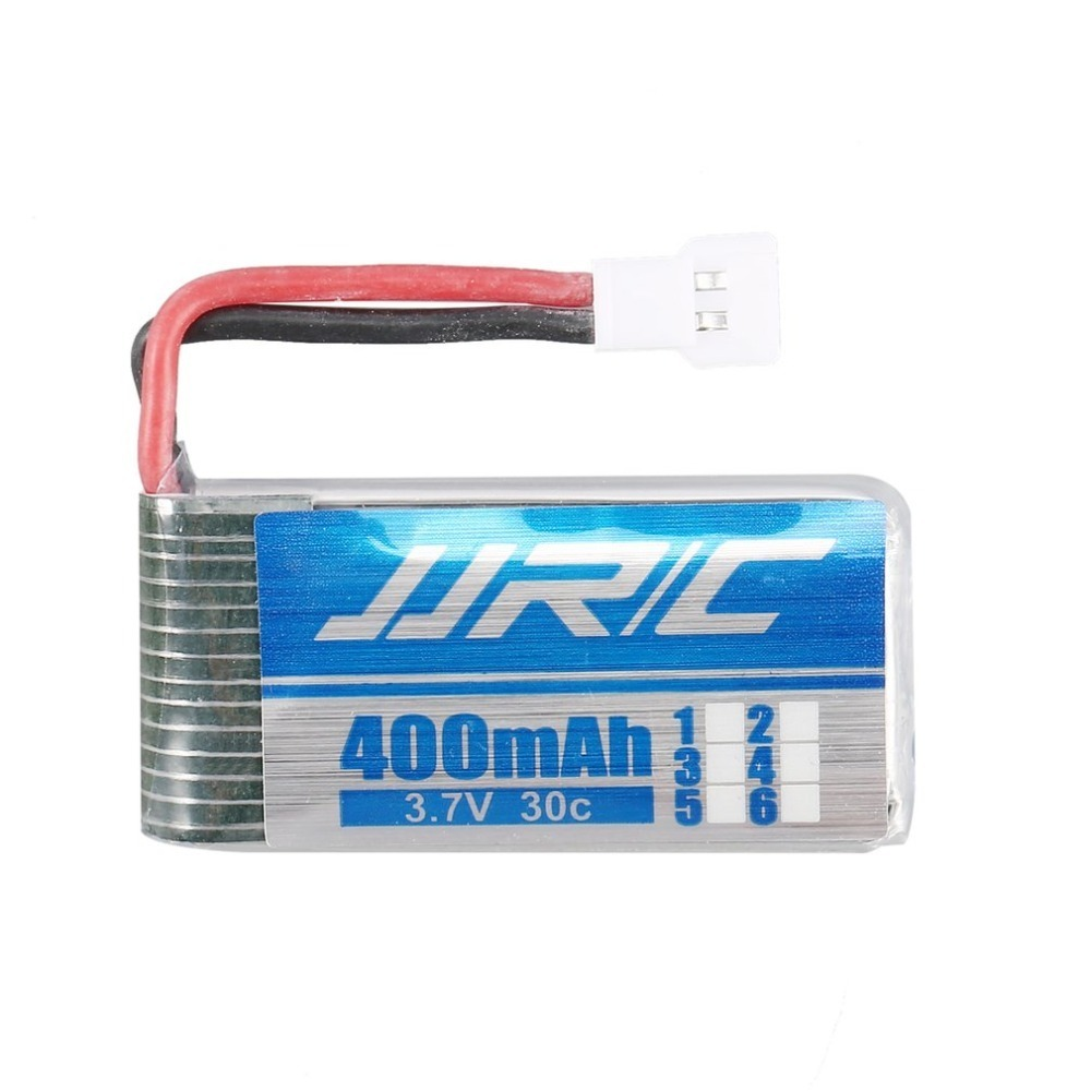 JJR/C 4Pcs <font><b>Battery</b></font> <font><b>3.7V</b></font> <font><b>400mAh</b></font> 30C <font><b>Lipo</b></font> <font><b>Battery</b></font> with 4 in 1 Charger for JJR/C H31 H98 GoolRC T6 RC Quadcopter Drone <font><b>Batteries</b></font> image