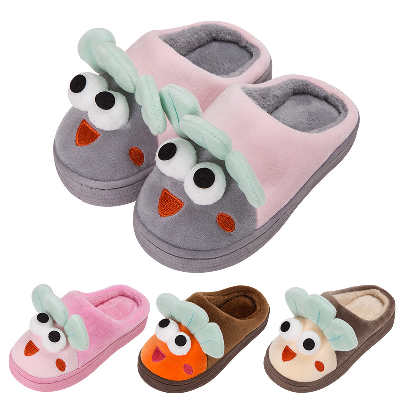 Kids Home Shoes Comfortable Cartoon Colorful Children