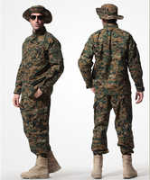 6colors Military Uniforms BDU Combat Airsoft Wargame Army Uniforms Set  Coat+Pants,working suits