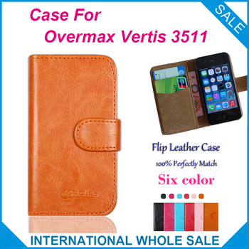 Newest Hot! 2016 Overmax Vertis 3511 Case, 6 Colors High Quality Leather Exclusive Case For Overmax Vertis 3511 Cover Tracking image