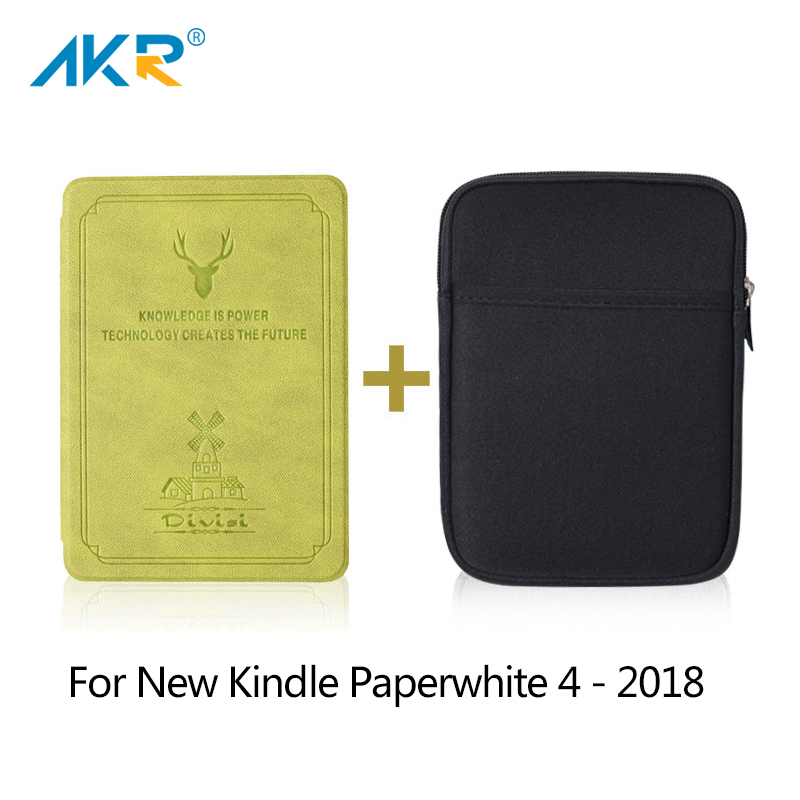 Case For 2018 Amazon Kindle Paperwhite 4 Deer Print UP Silicone Cover 10 Generation Slim Smart Magnetic Soft Shell ProtectorCase For 2018 Amazon Kindle Paperwhite 4 Deer Print UP Silicone Cover 10 Generation Slim Smart Magnetic Soft Shell Protector
