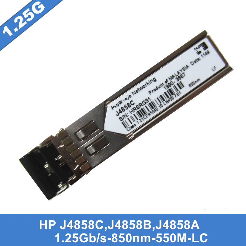 Image 3 - In Stock New J4858C Gigabit SX LC Mini GBIC SFP Optical Module MMF 850nm 550m LC Need more pictures, please contact me-in Fiber Optic Equipments from Cellphones & Telecommunications