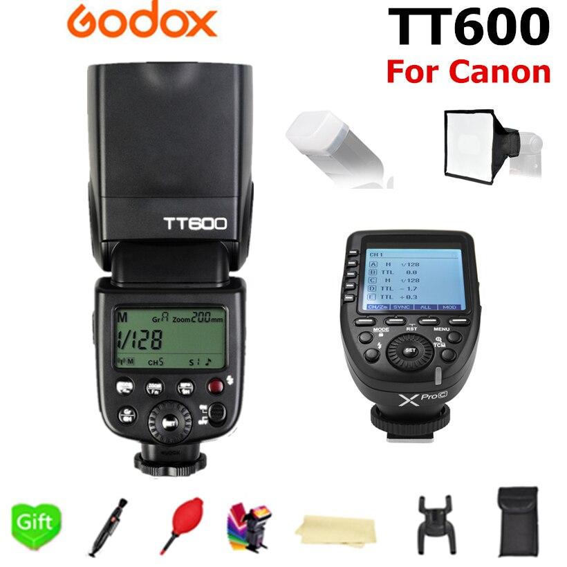 Godox TT600 TT600S 2.4G Wireless 1/8000s Speedlite Flash + Xpro-C Xpro-F Xpro-N TTL Trigger for Canon Nikon Fujifilm CameraGodox TT600 TT600S 2.4G Wireless 1/8000s Speedlite Flash + Xpro-C Xpro-F Xpro-N TTL Trigger for Canon Nikon Fujifilm Camera