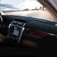 Car Dashboard Cover Avoid Light Pad Instrument Platform Dash Board Cover For Toyota Camry 2012 2015