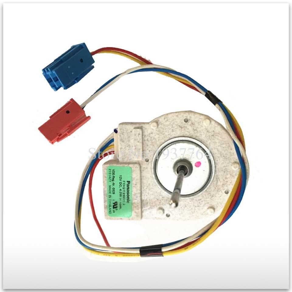 for panasonic refrigerator Fan motor for refrigerator freezer FDQT26BS3 12V DC for panasonic siemens bosch refrigerator motor fdqt26bs3 12v dc refrigerator parts