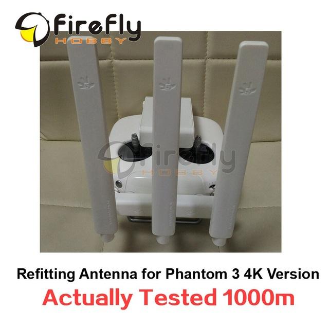 Remontagem do Alcance da Antena Omni-direcional Antena Extended Range Extender DIY para DJI Fantasma Versão 3 4 K