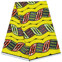 Ankara dutch wax African prints fabric 100% cotton printed pattern 6 yards fabrics