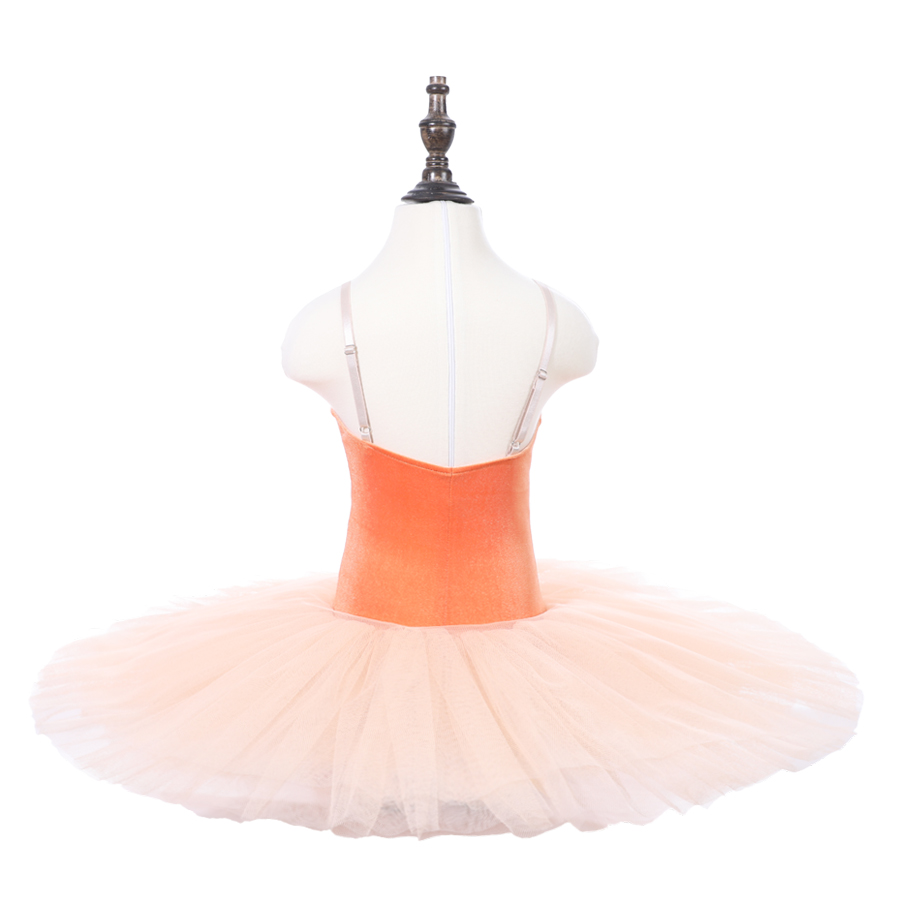 Girls Orange Professional Ballet Tutu Apperal The Nutcracker Performance Competition Ballet Dance Costumes Kids Ballet Skirt in Ballet from Novelty Special Use