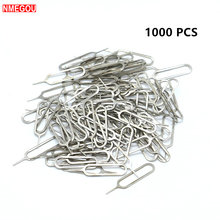 1000PCS for IPhone Sim Card Tray Open Eject Ejector Pin Key for IPhones X 8 7 6 Plus Huawei P20 P9 Pro Lite Samsung Galaxy S8 S9(China)