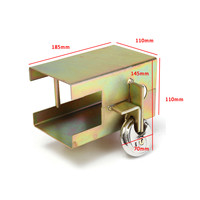 Universal Metal Trailer Security Lock Tow Anti Theft Lock With 2 Keys
