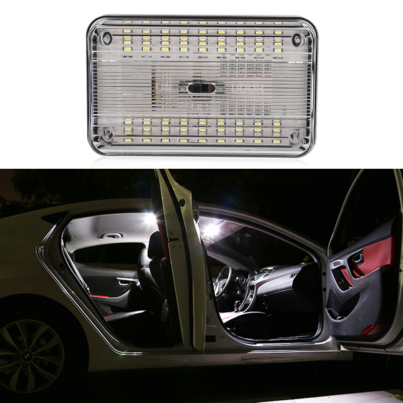 Urbanroad 1pcs автомобилей интерьер свет Источник света 12 В 36SMD Белый светодиодный потолочный купол крыши чтение свет лампы Вкл/Выкл